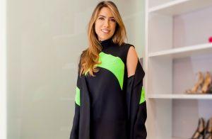 Patricia Abravanel usa look neon no inverno e web aprova visual: 'Poderosa'
