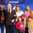 Silvio Santos zoou a filha Patricia Abravanel durante participação de Neymar em seu dominical