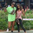 Ludmilla e Bruna Gonçalves  estão juntas oficialmente há pouco mais de oito meses