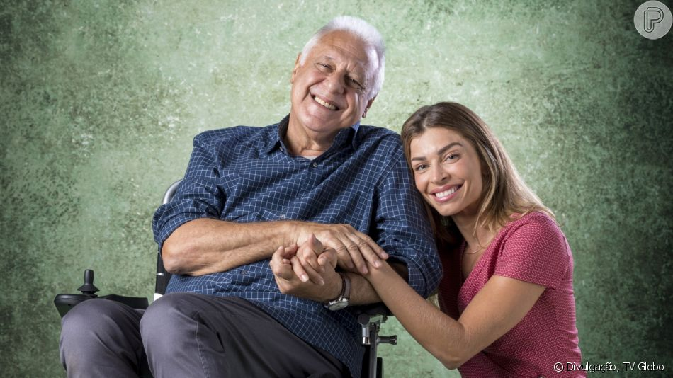Na novela 'Bom Sucesso', Paloma (Grazi Massafera) aceitará ser acompanhante de Alberto (Antônio Fagundes)