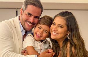 Filho de Simone, Henry faz 5 anos e ganha homenagem: 'Mãe mais feliz do mundo'