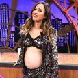 Tatá Werneck está grávida de sua primeira filha