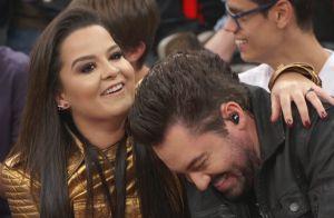 Fernando Zor mostra música e namorada, Maiara, elogia: 'Faz tudo com amor!'