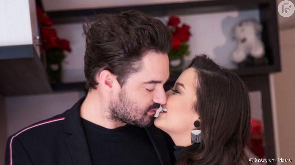 Fernando Zor foi elogiado pela namorada, Maiara, ao mostrar nova música de trabalho, 'Quando': 'Que privilégio poder viver com você'