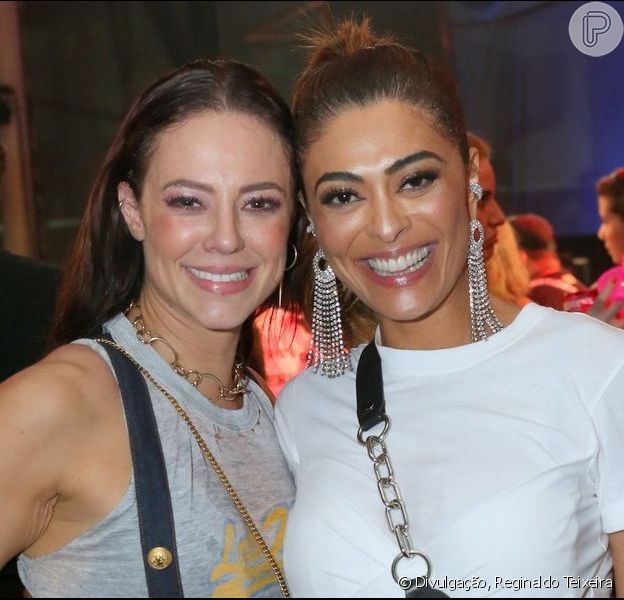 Paolla Oliveira e Juliana Paes curtiram o Baile da Favorita no Rio de Janeiro neste sábado, 10 de agosto de 2019