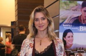 Letícia Spiller leva namorado e filhos em pré-estreia com Fernanda Vasconcellos