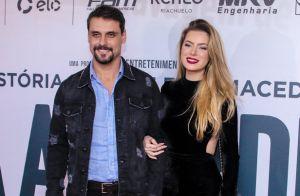Rayanne Morais faz rara aparição com o namorado, Felipe Cunha, no cinema. Fotos!