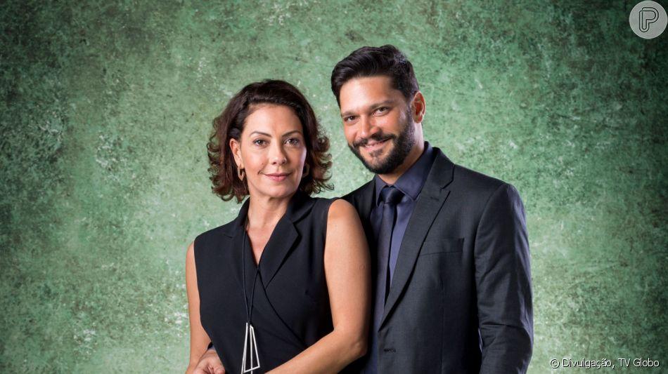 Nos próximos capítulos da novela 'Bom Sucesso', Nana (Fabiula Nascimento) acusa Diogo (Armando Babaioff) de abuso sexual: 'Canalha!'