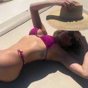 Luma Costa destaca curvas em foto de biquíni e é elogiada: 'Que corpo é esse?'
