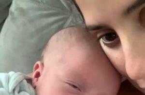 Camilla Camargo exibe rostinho do filho pela 1ª vez: 'Meu amor maior'. Vídeo!