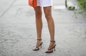 Este modelo de sandália de salto é o atual favorito entre as famosas