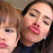 Sotaque do filho de Adriana Sant'Anna e Rodrigão rouba a cena em vídeo. Veja!
