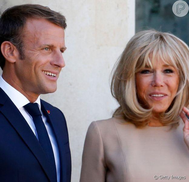Brigitte Macron: saiba mais sobre a primeira-dama francesa que mobilizou a web em matéria do Purepeople nesta quarta-feira, dia 28 de agosto de 2019
