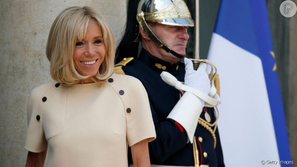 Brigitte Macron, em português, agradece apoio do Brasil após comentário polêmico de Bolsonaro. Veja declaração da francesa nesta quinta-feira, dia 29 de agosto de 2019