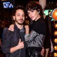 Junior Lima e Monica Benini também estiverem presentes no lançamento da coleção Rock City, da John John