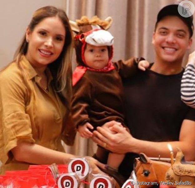 Wesley Safadão reuniu os filhos, Ysis, Yhudy e Dom e mais familiares em comemoração de aniversário nesta sexta-feira, dia 06 de setembro de 2019