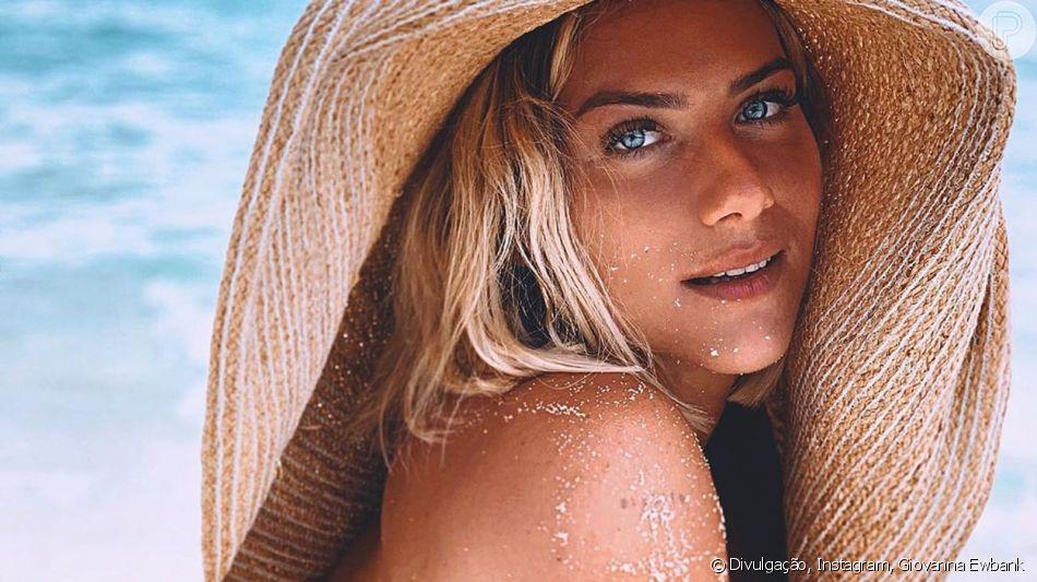 Giovanna Ewbank revela truque para valorizar corpo em foto nesta segunda-feira, dia 09 de setembro de 2019