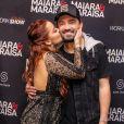 Maiara não esperava que o namorado, Fernando Zor, estivesse em sua casa para recepcioná-la