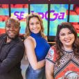 Fernanda Gentil, Érico Brás e Fabiana Karla vão comandar o 'Se Joga!', com estreia prevista para 30 de setembro de 2019