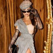 Sabrina Sato usa look vintage de R$ 18 mil em evento de moda em Milão. Veja