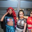 Cantoras Malia, Clau e Gabily estiveram na Parada LGBT no Rio de Janeiro