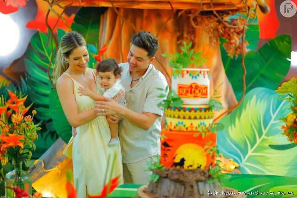Wesley Safadão e Thyane Dantas fazem festa de luxo na comemoração do 1 ano do filho caçula, Dom, neste domingo, 22 de setembro de 2019
