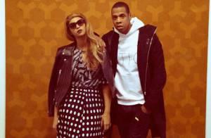 Beyoncé exibe novo visual em passeio por galeria de arte com Jay-Z