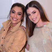 Mix de tendências! O look de Ju Paes, Bruna Hamú e mais celebs em evento de moda