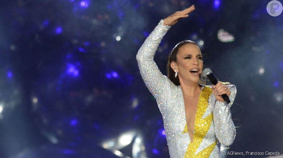 Ivete Sangalo aposta em macacão com 50 mil cristais para show no Rock in Rio, em 29 de setembro de 2019