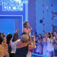 Ana Maria Braga apresentou seu programa, em abril de 2012, diretamente do estúdio do 'Big Brother Brasil'