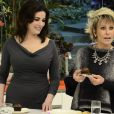 Ana Maria Braga recebeu a chef inglesa Nigella no 'Mais Você' em 2013