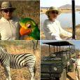 Em 2005, Ana Maria gravou matérias na África do Sul para o 'Mais Você'