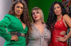 Macacão e decote: os looks glow de Marília Mendonça, Simone e Simaria em clipe