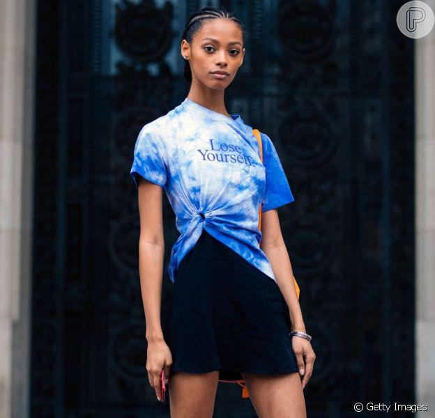 Moda verão 2020/2021: tie-dye é a estampa da temporada