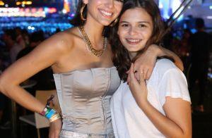 Bruna Marquezine volta ao Rock in Rio com a irmã, Luana: 'Noite para curtir'