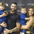 Gusttavo Lima decidiu reduzir o número de shows em prol dos filhos: 'Preciso ser um pai mais presente'