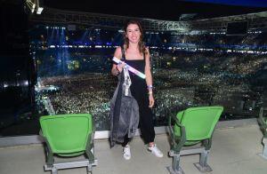 Doente, Sandy faz show e exalta energia dos fãs: 'Me dão forças pra ficar de pé'