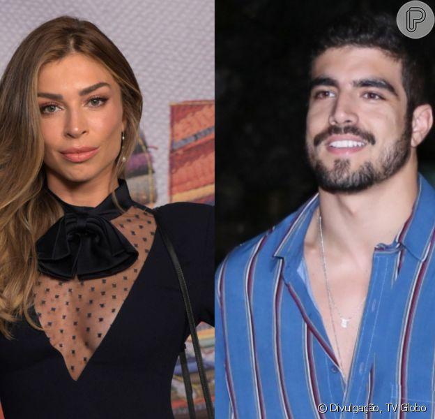 Grazi Massafera ganhou comentário sugestivo de Caio Castro nas redes sociais e fãs torceram pelo casal. Veja post nesta quinta-feira, dia 17 de outubro de 2019