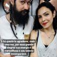 Namorada de Rafael Miguel,  Isabela Tibcherani  fez  tatuagem inspirada em foto do casal