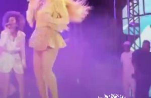 Que pique! Claudia Leitte dança e mostra animação em 1º show após gravidez