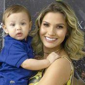 Andressa Suita e Gusttavo Lima reencontram os filhos após viagem: 'Grudinhos'