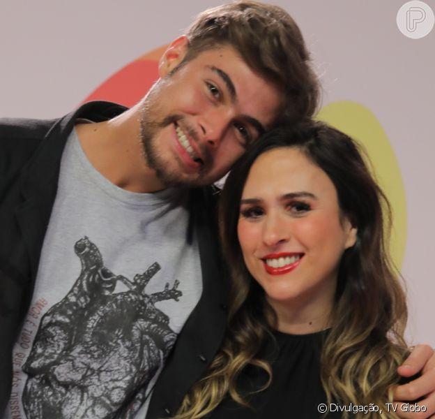 Tatá Werneck revelou que já é casada com Rafael Vitti nesta quarta-feira, 6 de novembro de 2019