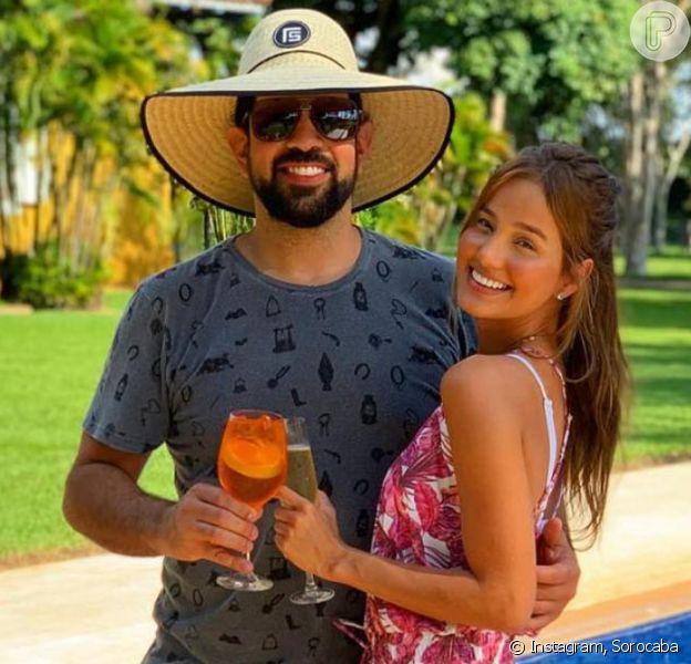Sorocaba, da dupla com Fernando, surpreendeu namorada com gesto romântico