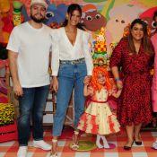 Neta de Preta Gil recebe filhos de Gagliasso e Ewbank em festa de aniversário
