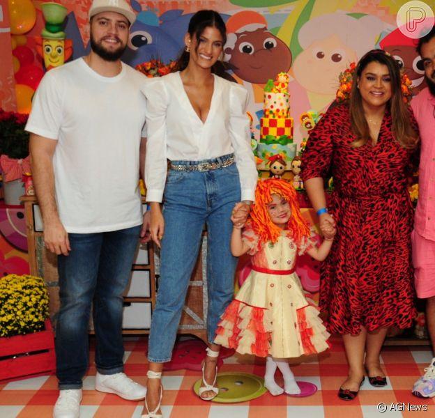 Neta de Preta Gil, Sol de Maria recebeu filhos de Bruno Gagliasso em festa de aniversário nesta sexta-feira, 15 de novembro de 2019