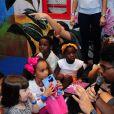 Filhos de Bruno Gagliasso e Giovanna Ewbank se divertiram em festa de Sol de Maria