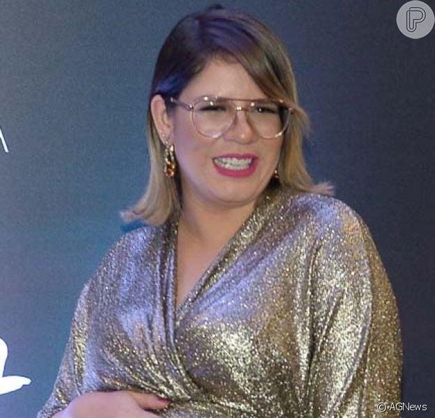 Marília Mendonça de derrete por filha de Paula Vaccari e Cristiano em vídeo, em 17 de novembro de 2019