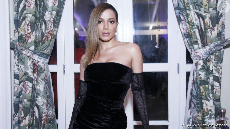 Anitta é eleita Mulher do Ano no  Men of The Year 2019 nesta quarta-feira, 27 de novembro de 2019