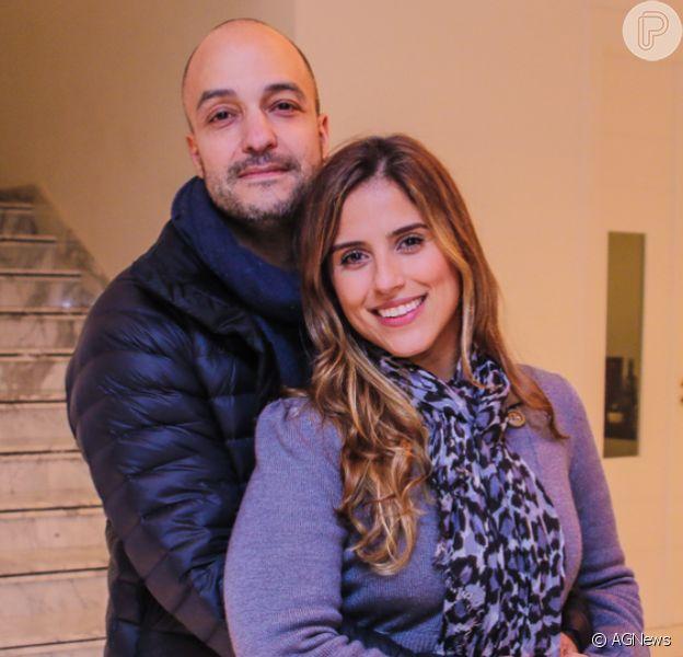 Camilla Camargo destaca parceria com marido, Leonardo, com filho, Joaquim, em entrevista nesse sábado, dia 30 de novembro de 2019