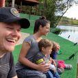 Thais Fersoza e Michel Teló adoram compartilhar momentos com os filhos nas redes